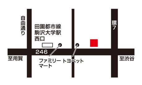 サウンドスタジオノア駒沢の地図