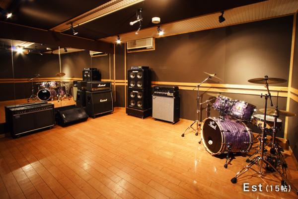 個人練習2名でのドラム録りフォト01
