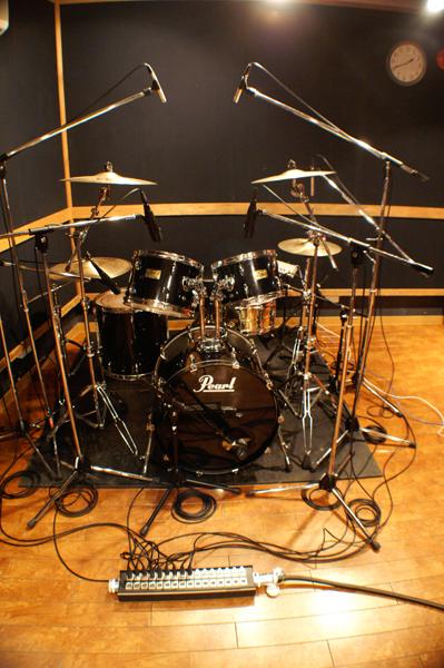 ドラム録りフォト01