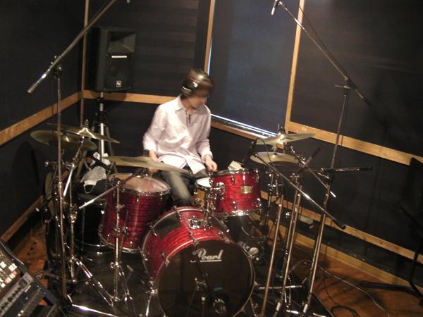 バンドレコーディングフォト02