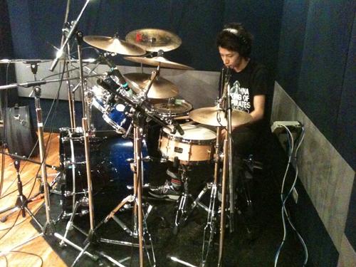 バンドレコーディングフォト01