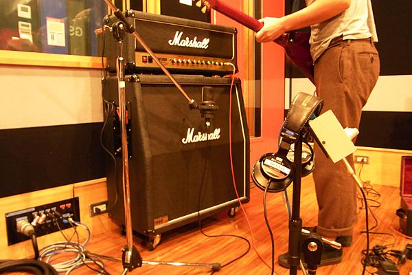 ギター、コーラスRECフォト01
