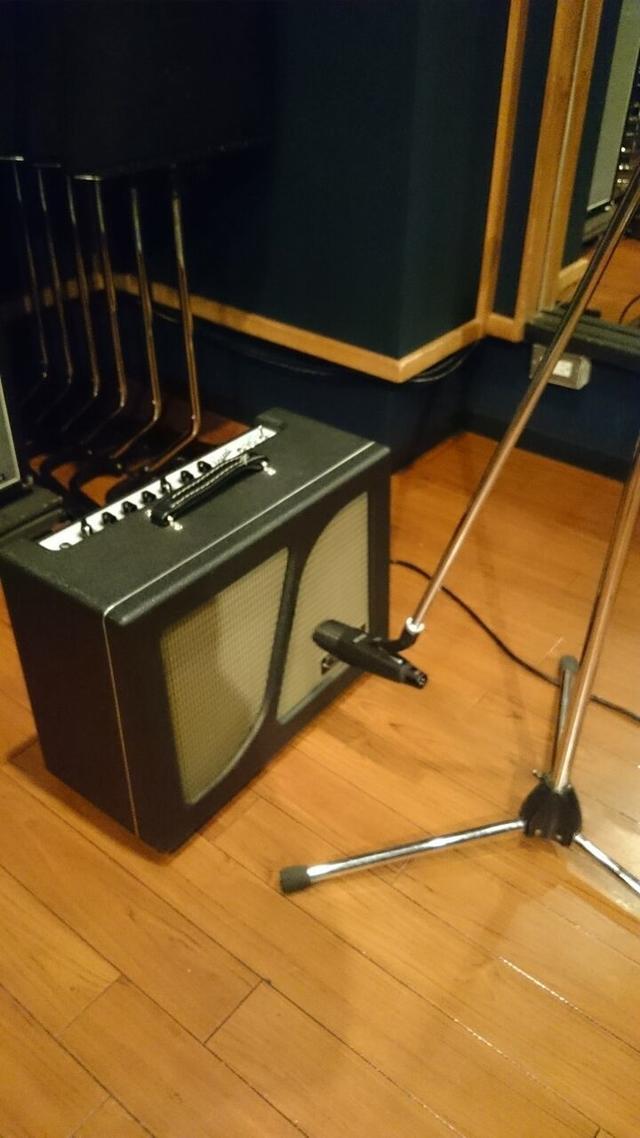 ギターレコーディングフォト01