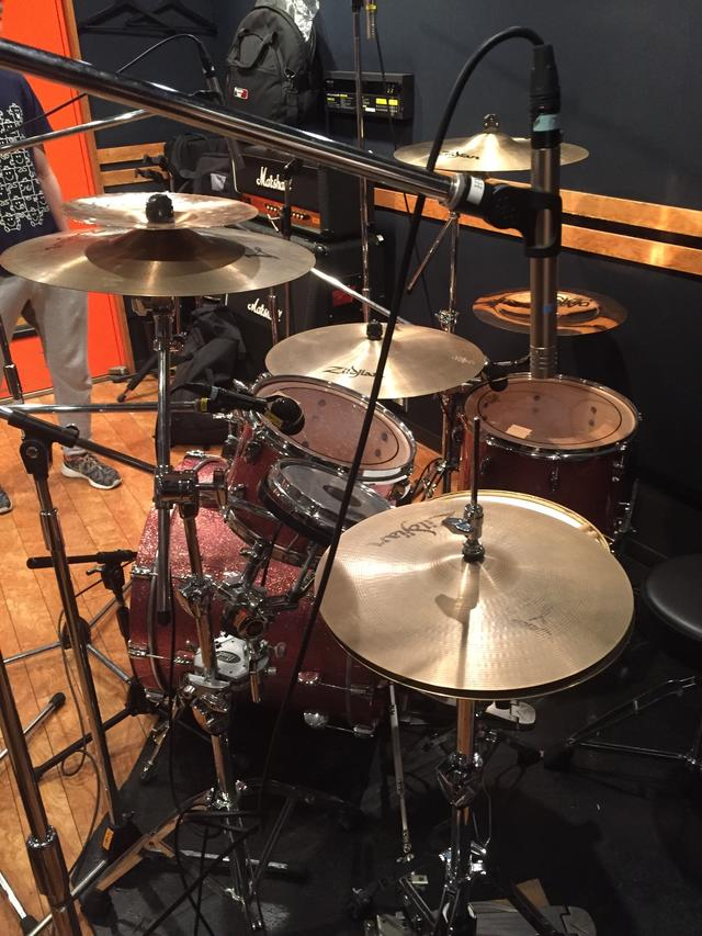 ドラムレコーディングフォト01