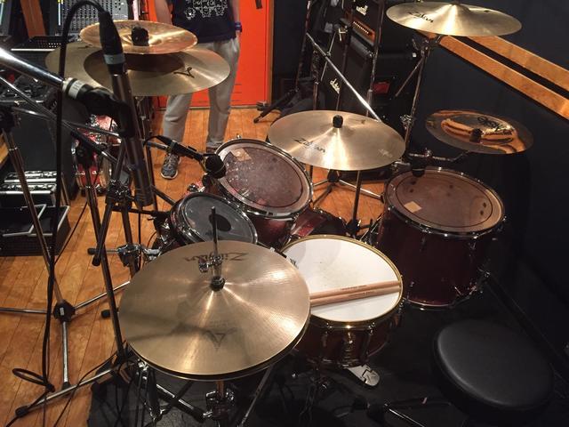 ドラムレコーディングフォト02