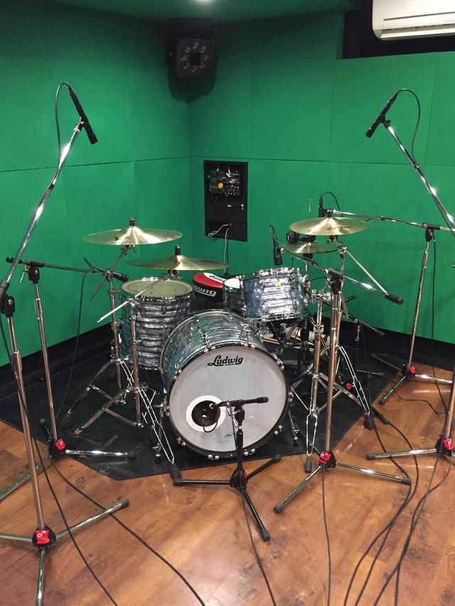 中野店Bst|ドラムレコーディングフォト01