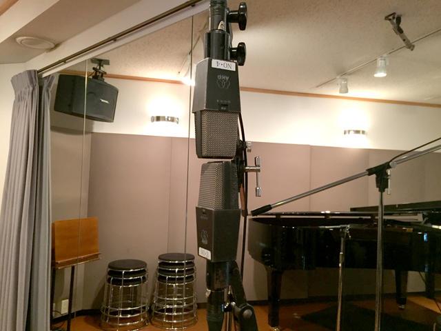 ピアノ&トランペット レコーディンクフォト01
