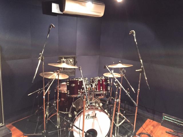 野方店 ASst+RECbooth ドラムレコーディングフォト01