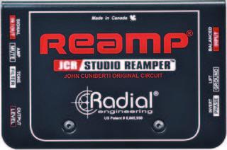 RADIAL / REAMP JCR(リアンプボックス)