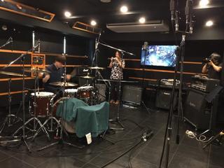 恵比寿店 CSst+subroom ドラム&ベースレコーディング