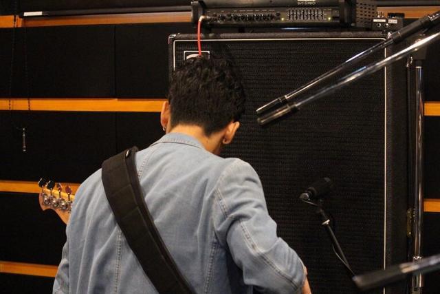恵比寿店 CSst+subroom ドラム&ベースレコーディングフォト02