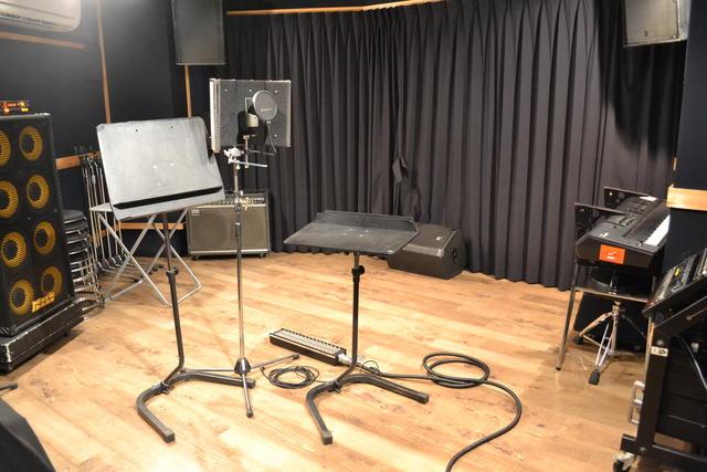 【初台店】Vocal レコーディングフォト01