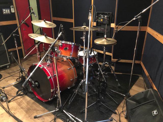 【初台店】ドラムレコーディングフォト01