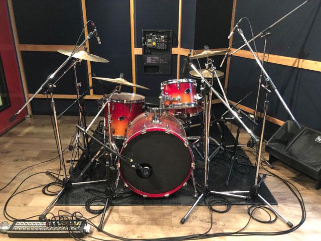 【初台店】ドラムレコーディングフォト02