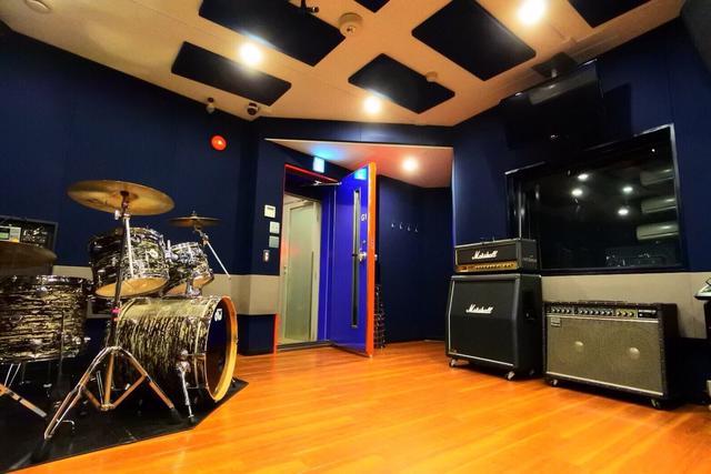 【代々木店】ドラムレコーディングフォト01