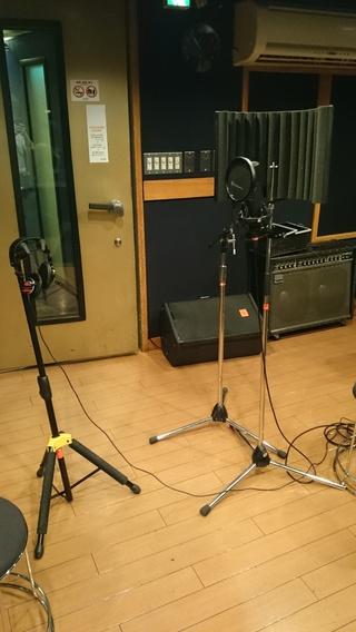 ボーカルレコーディング