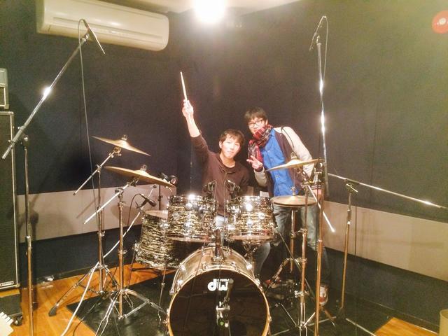 代々木店G1+Sub ドラムレコーディングフォト01