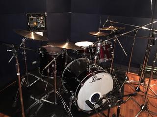 野方店 ドラムレコーディング