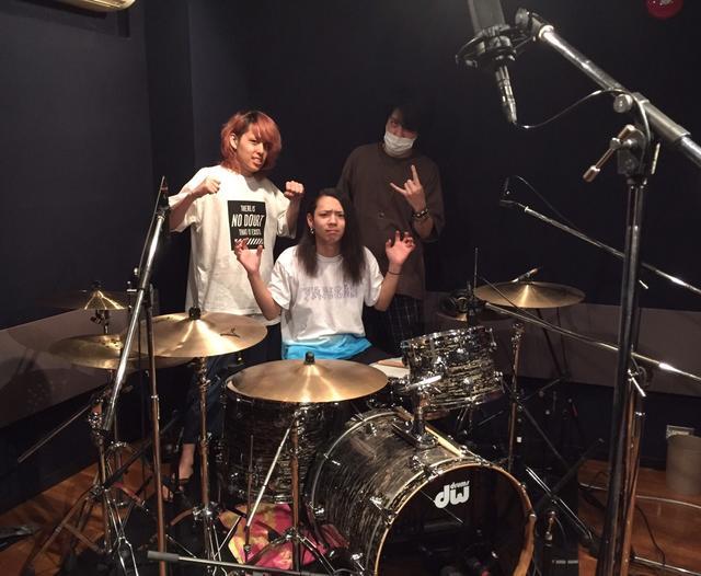 代々木店G1st|ドラムレコーディングフォト01
