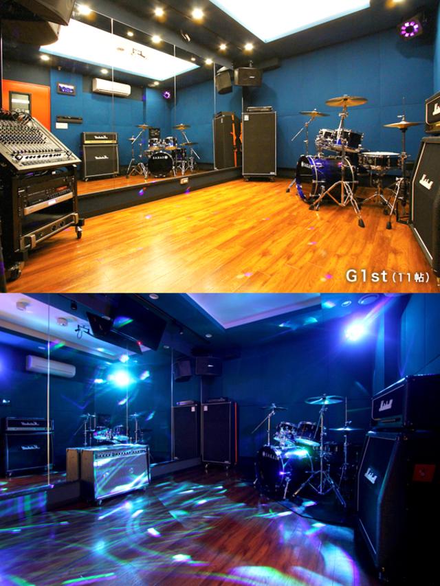 中野店G1st|ドラムレコーディングフォト01